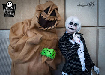 A Skellington and a Boogie by RockerDragonfly