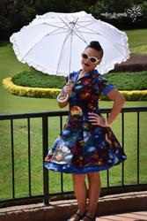 Space Dress !!! by RockerDragonfly