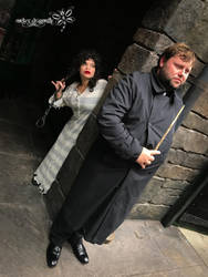 Escaping the Ministry of Magic by RockerDragonfly