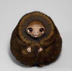 Forest Spirit Furry Creature by RamalamaCreatures