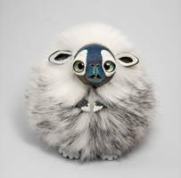 Yeti Furry Creature by RamalamaCreatures
