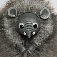 Elephant Furry Creature by RamalamaCreatures