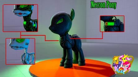 Necron Pony [SFM/Download] by koni126