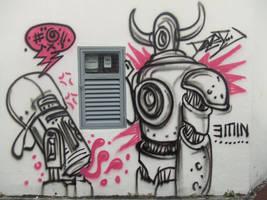 Graffiti 03 by gumballmachines