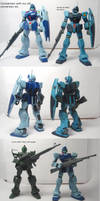 HGUC GM Sniper II review 04: Comparisons by Blayaden