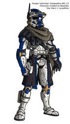 Clone Trooper A-53 Solus'kad by Blayaden