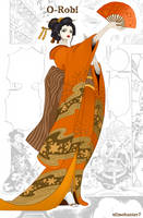 O-Robi Geisha Nico Robin One Piece 909 by slimehunter7