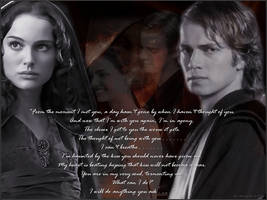 Padme and Anakin by EveyLou
