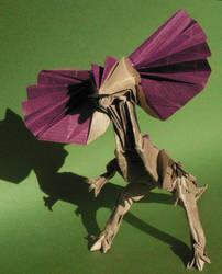 Dilophosaurus by Send-a-Dream