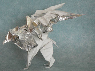 Silver griffin.02 by Send-a-Dream