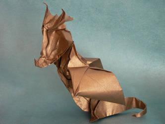 Dragon cuivre by Send-a-Dream