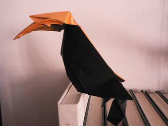 Great Hornbill ~ Calao a bec jaune by Send-a-Dream