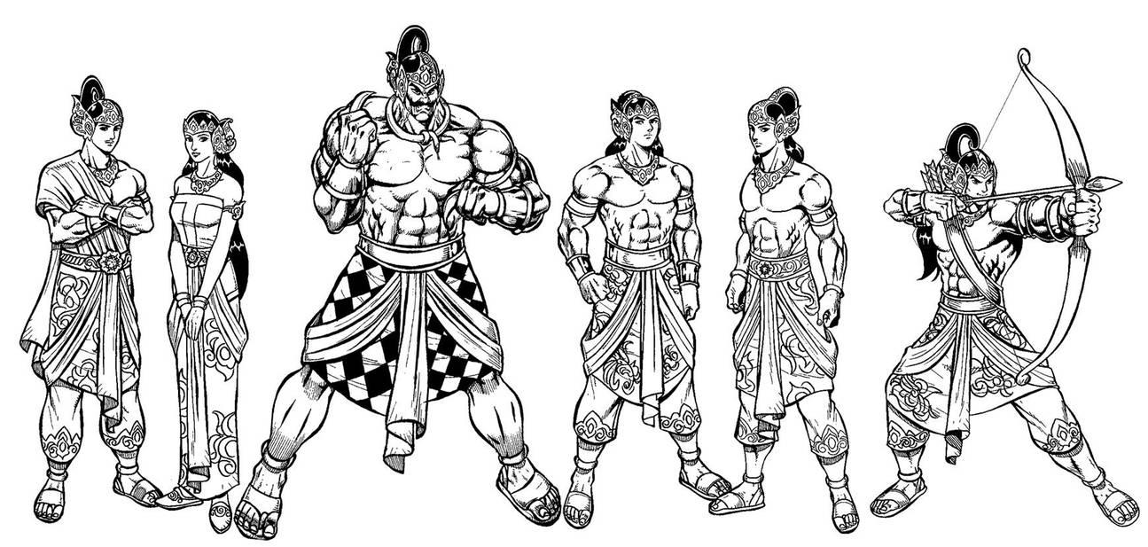 Pandawa 5 plus by Joemand