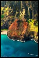 Mountains of The Napali Coast by ChimpyJay