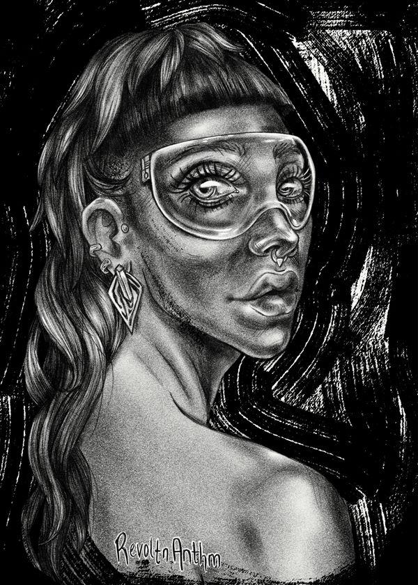 BnW Portrait 060918 by madison-cowles-serna