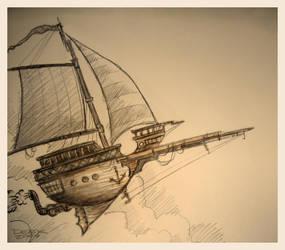 Skyship Soylent Spectre by CapnDeek373