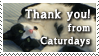 thanks from Caturdays by CapnDeek373