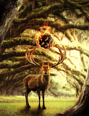Keeper of The Woods by cheker123
