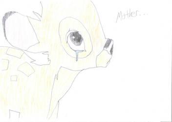 Bambi Drawing by HyperEspio