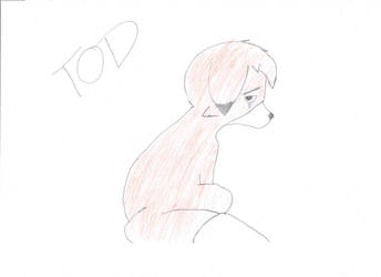 Tod Drawing by HyperEspio