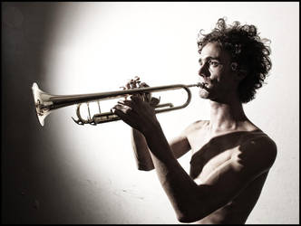 The Trumpeter III by apolonn