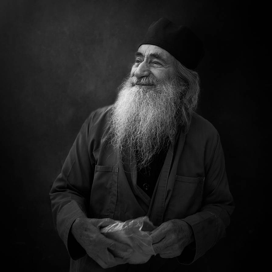 Elder Ilarion by Chris-Lamprianidis