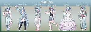 [PCG] - Outfits Meme by braveling