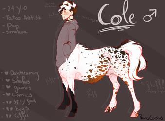REF: Cole by PrinceCorvus