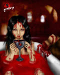 Erzebeth Bathory by gorefaery