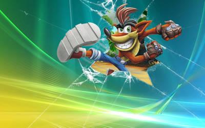 Crash Bandicoot Wallpaper 2016 by NeoCortex726