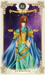 Tarot Card- Justice by Youkai-Meimi