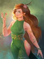 Yavanna by HelenKei