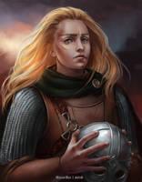 Maiden Of Rohan by HelenKei