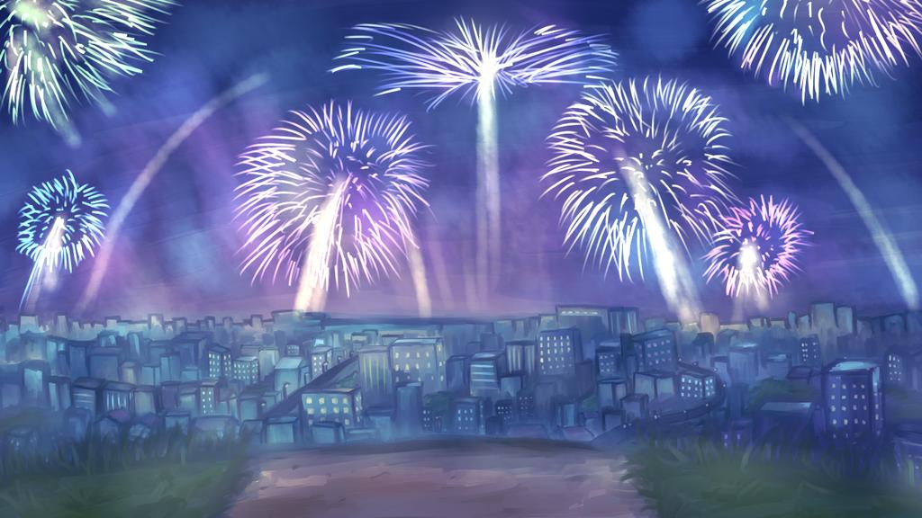 Oumazoo: Summer Festival Fireworks! by sealartonline