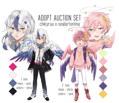 collab auction adopt set [closed] by sealartonline