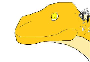 Tyrannosaurus by WinterWantsMoon