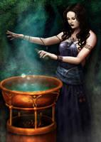 Sorceress by garr0t
