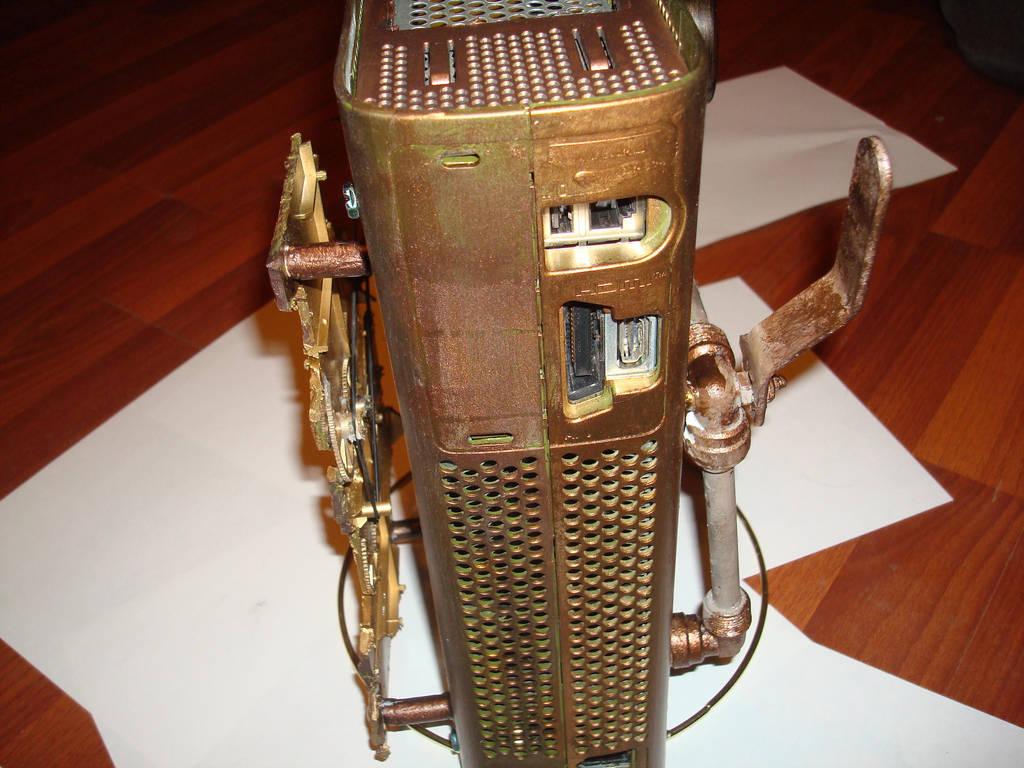 steampunk xbox 6 by Dopelgunder