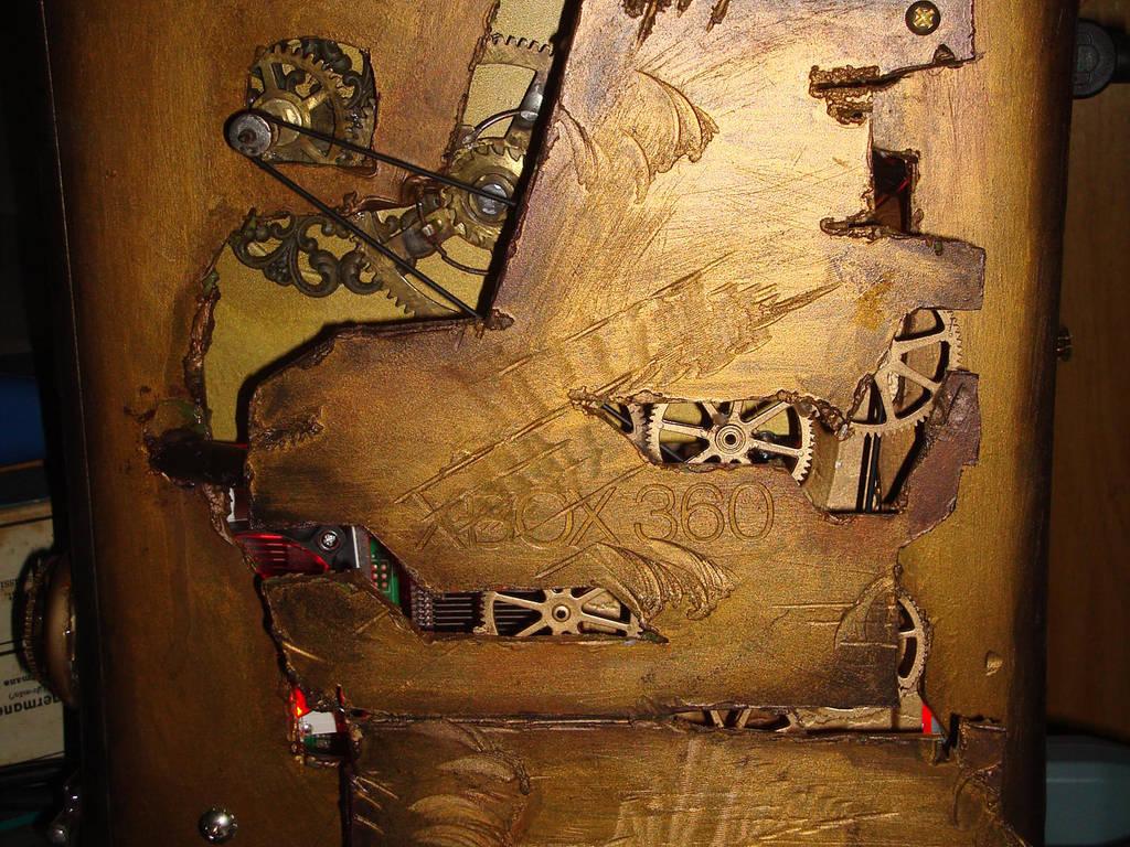 steampunk xbox 11 by Dopelgunder