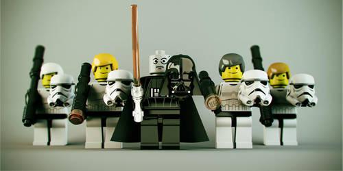 Lego Star Wars - Dark Side Off by DubberRucky