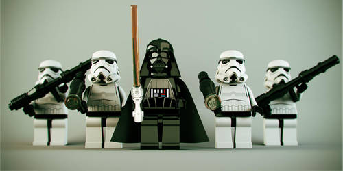 Lego Star Wars - Dark Side On by DubberRucky
