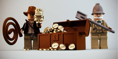 Indiana Jones by DubberRucky