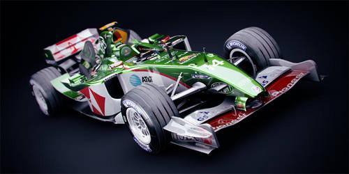 F1 Jaguar R4 - 2004 Front by DubberRucky