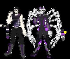 Wendigo/Xander's Young Justice Ref/Bio (DCsona) by PurpleGramps