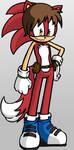 Sonic OC: Andy the Fox by lightyearpig