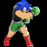 Little Sonic by lightyearpig