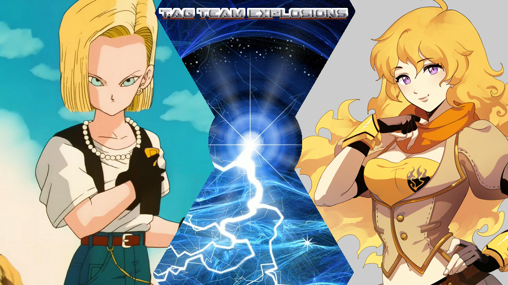 Android 18 And Yang Xiao Long by lightyearpig