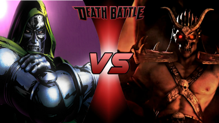 Death Battle: Doctor Doom vs Shao Kahn by lightyearpig