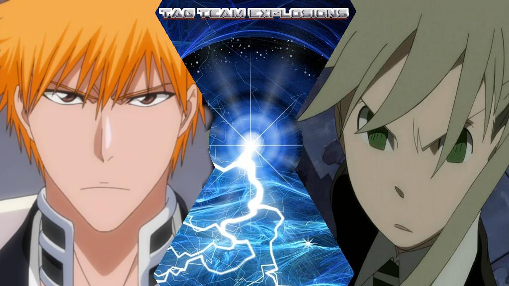 Ichigo And Maka by lightyearpig
