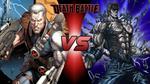 Death Battle: Cable vs Kenshiro by lightyearpig